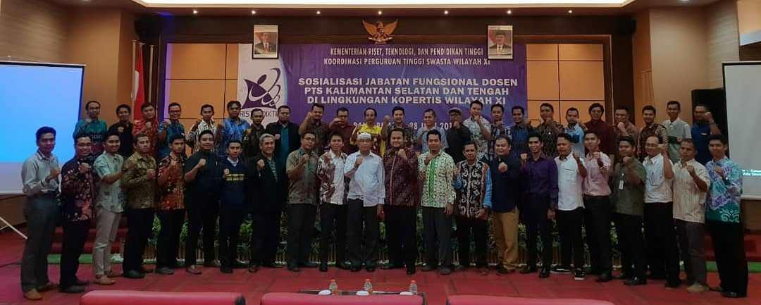 Sosialisasi Jabatan Fungsional Dosen PTS Kalsel-Teng oleh Kopertis Wilayah XI Kalimantan