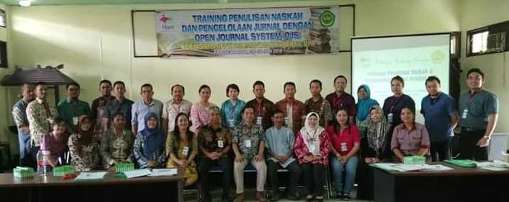 Training Penulisan Naskah dan Pengelolaan Jurnal dengan OJS (Open Journal System)